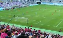 North and South Korean Workers Hold Friendly Soccer Match in Seoul