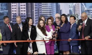 Salesforce Transit Center Ribbon Cutting Ceremony