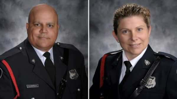 Robb Costello and Sara Burns.  (Fredericton Police Department)