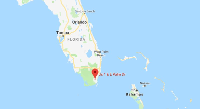 The incident took place in Florida City, Florida. (Google Maps)