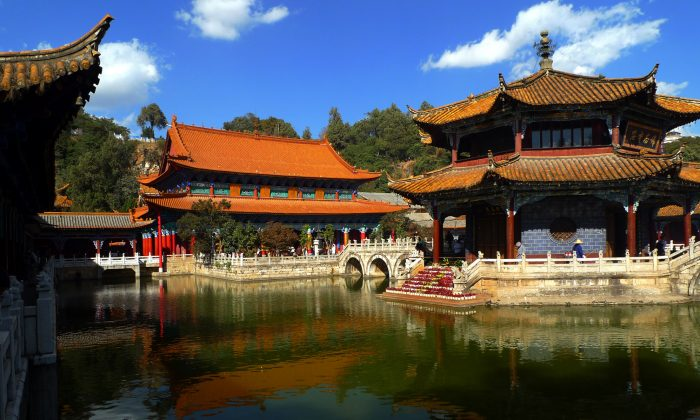 The Yuantong Temple in Yunnan Province, China. (Gisling/Creative Commons)