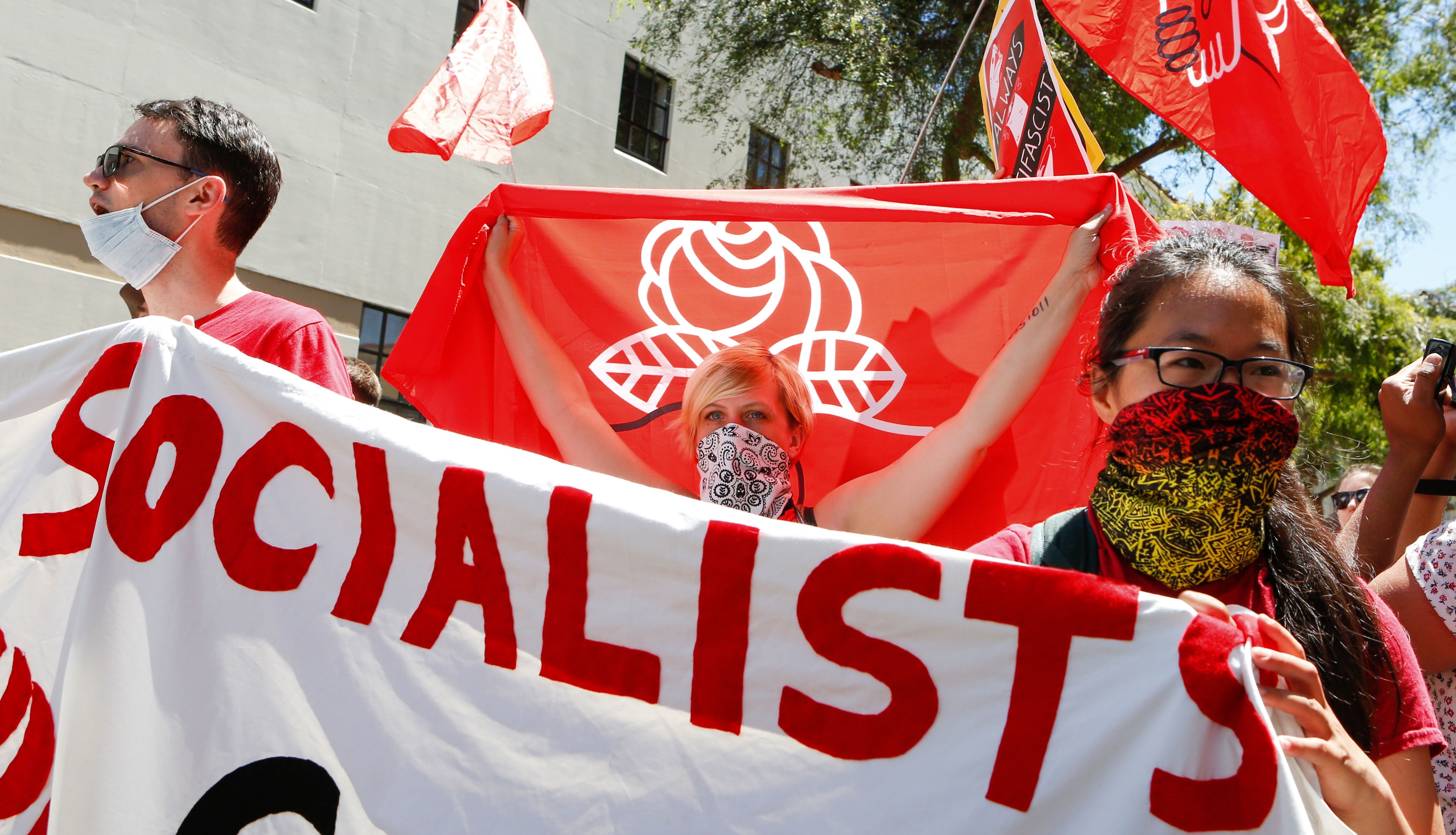 How 57,000 Socialists and Communists Are Planning to Take Over the