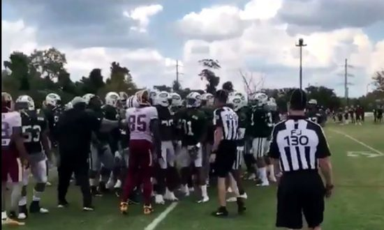 Redskins, Jets Joint Practice Turns Ugly After Field Fight