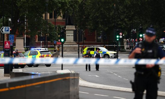 Car Crashes Outside British Parliament: Man Arrested on Suspicion of Terror Offenses