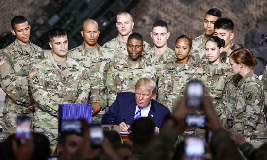 In Photos: Trump Signs 2019 National Defense Authorization Act