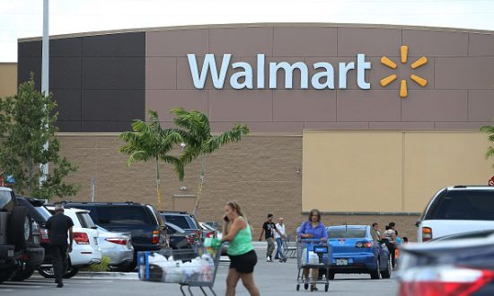 A Walmart store in Miami on Aug. 18, 2015. (Joe Raedle/Getty Images)