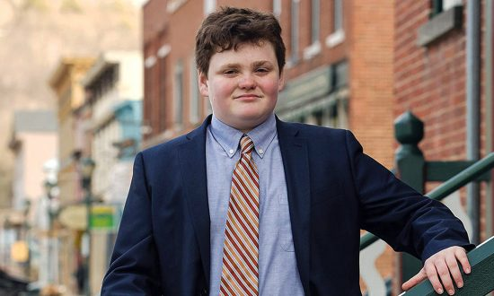 Vermont Teen Running for Governor