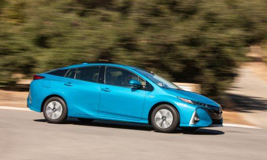 2018 Toyota Prius Prime Courtesy Of