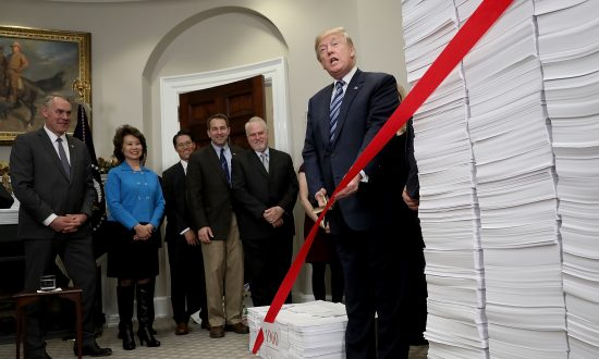 Trump's Push to Cut Red Tape Leads to Billions in Regulatory Savings for First Time on Record