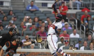 MLB Recap: Braves' Acuna Plunked, Hurt in Testy Win
