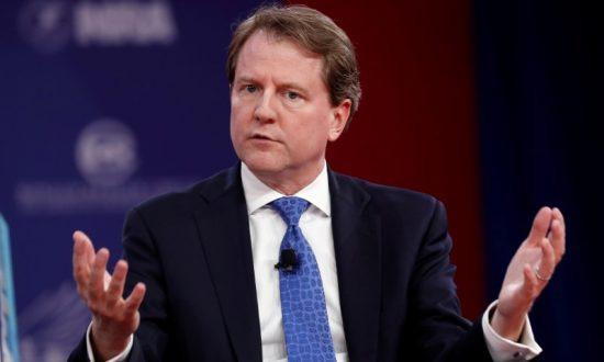 McGahn to Exit Job as White House Counsel, Trump Says