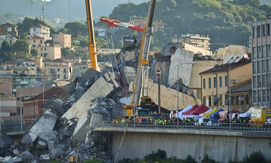 State of Emergency Declared After Italy Bridge Collapse