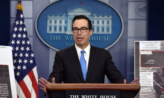 US Hits Chinese and Russian Firms Over Breach of North Korea Sanctions