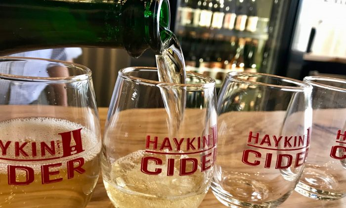 The Haykins seek out the best apples to make their ciders. (Sara Schiffer)