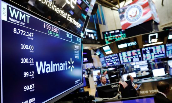 Walmart Posts Biggest U.S. Sales Rise in a Decade, Shares Soar