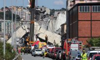 Italy Bridge Collapse: Firefighters Haven't Given Up Hope as Fire Disrupts Rescue