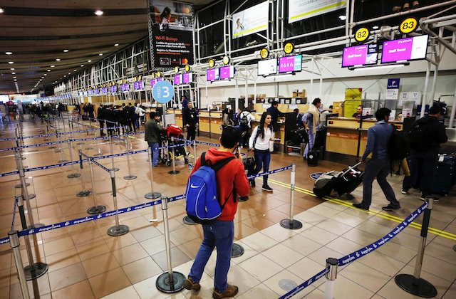 Chilean officials: Flights hit by wave of false bomb threats