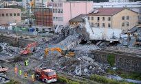 Survivor, Shaken, Describes Plunge Off Bridge in Italy