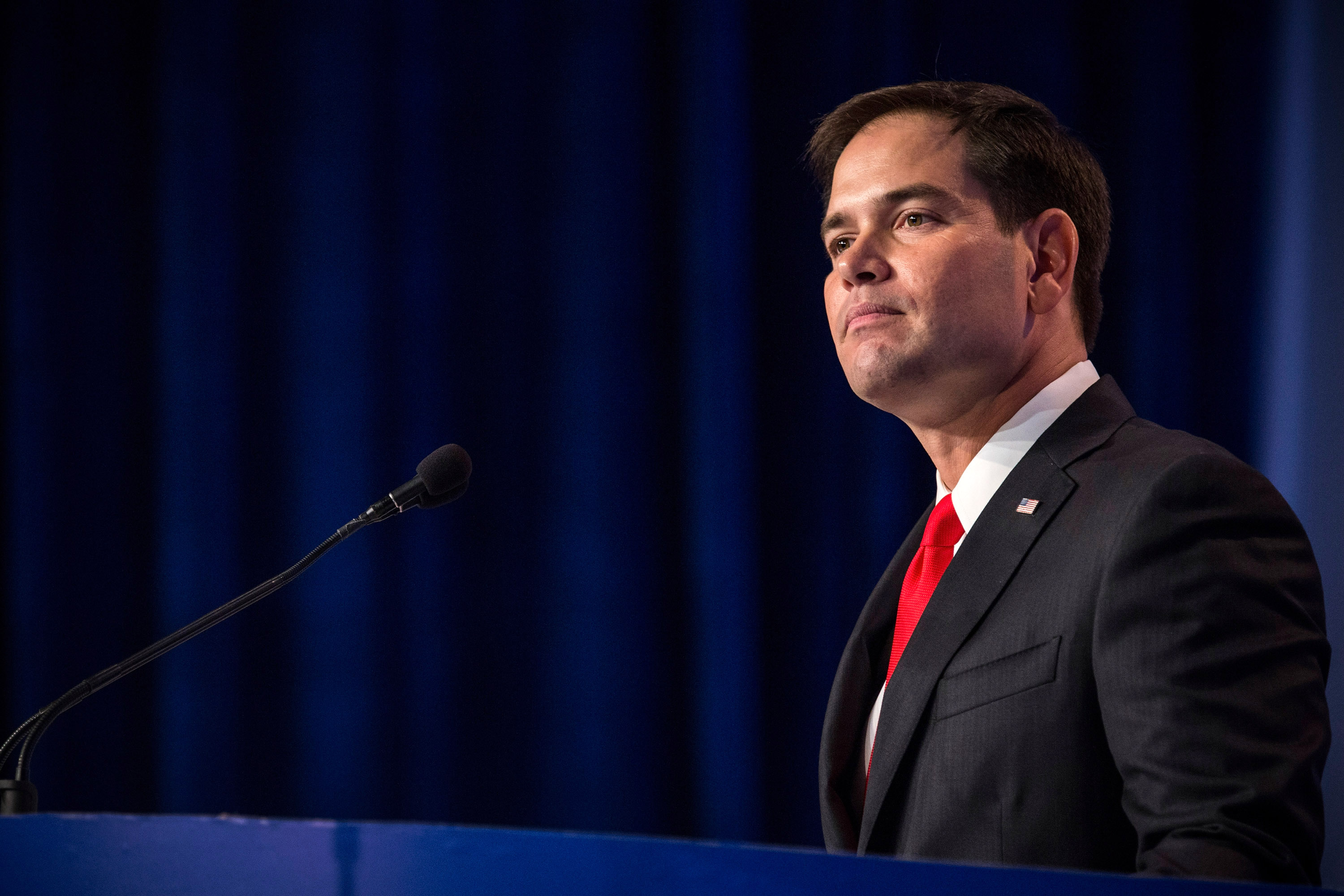 Senator Marco Rubio speaks at the 2013 Values Voter Summit.