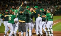MLB Recap: A's Pull Closer to Astros With Walk-Off Win