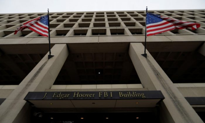 The J. Edgar Hoover Federal Bureau of Investigation (FBI) Building in Washington, D.C. on February 1, 2018 (Jim Bourg/Reuters)