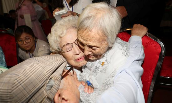 Joy, Disbelief as Korean Families Separated by War Meet After 65 Years
