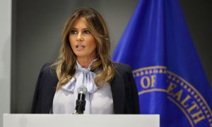 Melania Trump Encourages Adults to Listen to Children to Prevent Cyberbullying