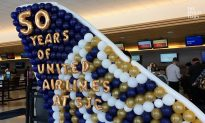 United Airlines Celebrates 50th Anniversary at Silicon Valley Airport