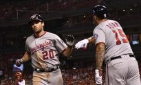 MLB Notebook: Nats Deal 2B Murphy to Cubs, 1B Adams to Cards