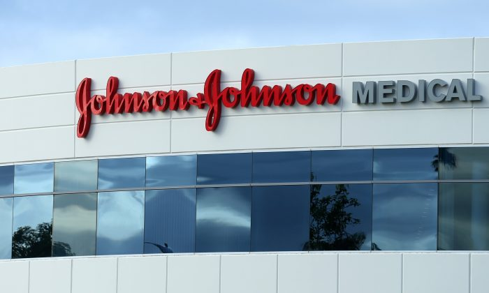 A Johnson & Johnson building is shown in Irvine, Calif., on Jan. on 24, 2017. (Mike Blake/Reuters)