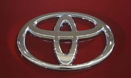 A Toyota Motor Corp logo is pictured in a showroom in Tokyo June 24, 2010.  (Reuters/Yuriko Nakao).