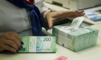 Russian Ruble Under Pressure From New US Sanctions