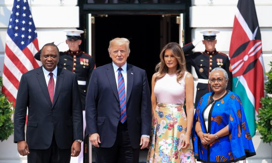 Trump Promises Mutually Beneficial Trade Deals in Meeting With Kenyan President