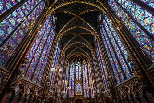 The Sainte-Chapelle in Paris. (Shutterstock)