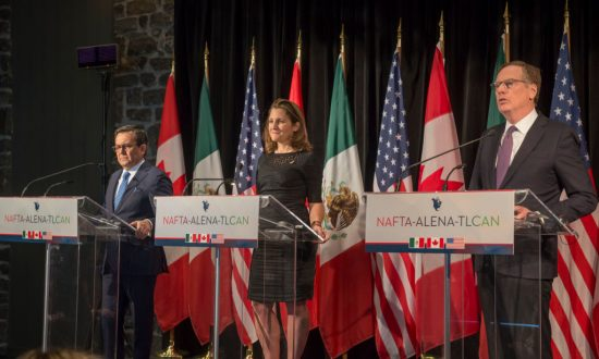 Canada Joins in Talks to Replace NAFTA after US, Mexico Reach Deal
