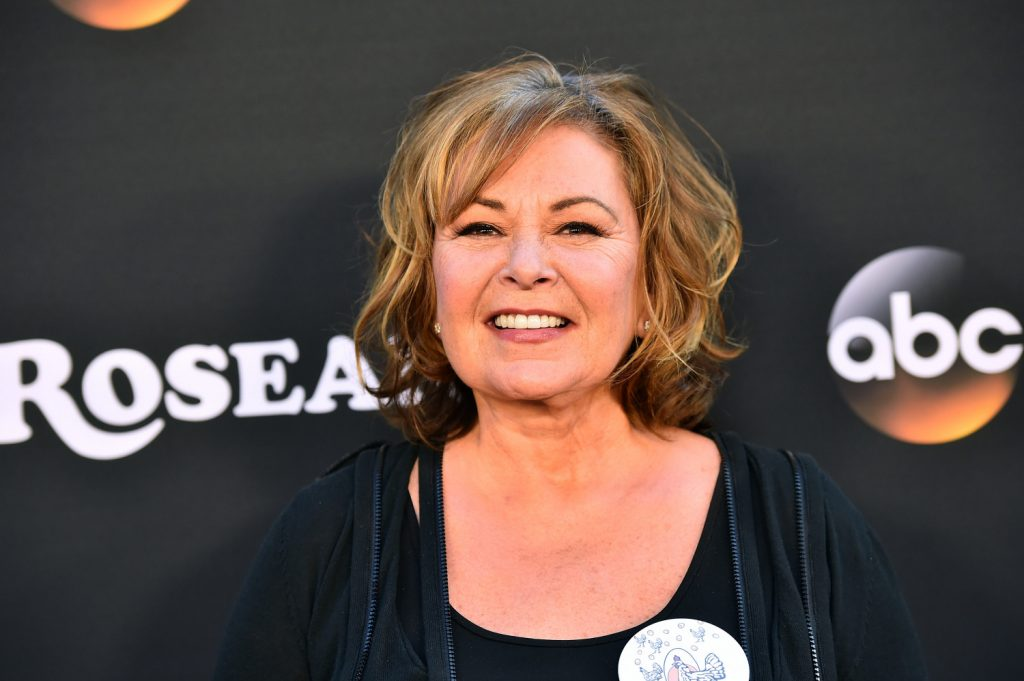 Roseanne Barr attends the premiere of ABC's 'Roseanne' at Walt Disney Studio Lot in Burbank, California on March 23, 2018. (Alberto E. Rodriguez/Getty Images)