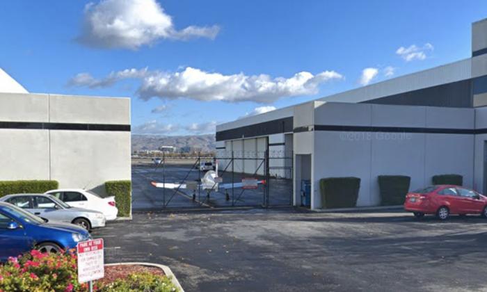 Us FAA. 1250 Aviation Ave, San Jose, CA 95110. (Map data @2018 Google).