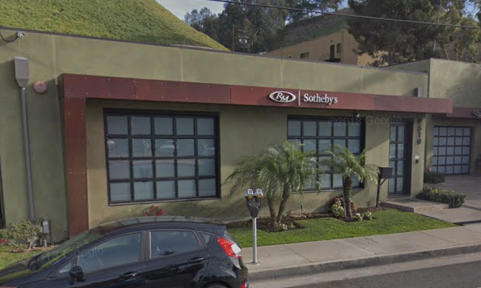 RM Sotheby's. 9510 Jefferson Blvd, Culver City, CA 90232. (Map data @2018 Google).