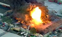 Toxic Warehouse Fire Rages, Forces Schools to Close in Melbourne
