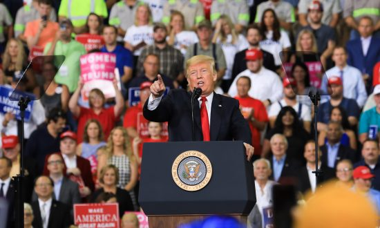 Trump Rallies in Indiana for Senate Hopeful Mike Braun