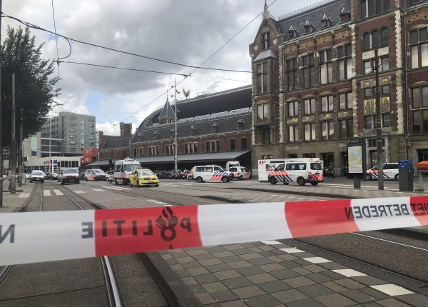 Suspect shot after stabbing at Netherlands railway station