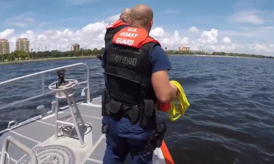 Coast Guard Rescues Kite Surfer in Florida