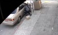 Police Video: Woman Dragged During Roadside Robbery