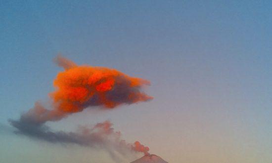 Volcano Spews Ash on Mexico City