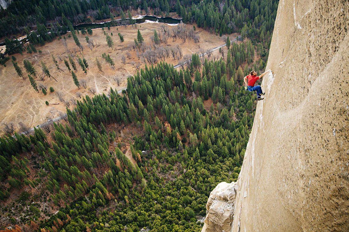 "8106f56e Tommy Caldwell climbing El Capitan in ""The Dawn Wall."" (Brett Lowell/Red  Bull Media House)"