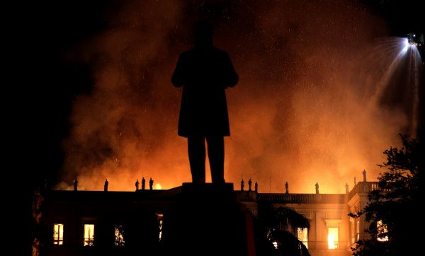 Fire engulfs National Museum in Brazil