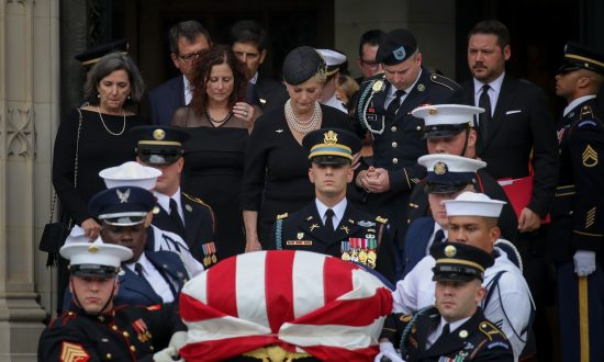 Burying John McCain