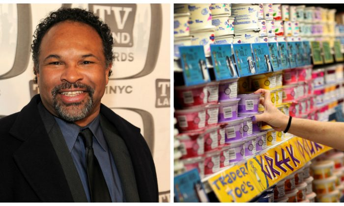Actor Geoffrey Owens attends the 9th Annual TV Land Awards at the Javits Center in New York City on April 10, 2011. (Larry Busacca/Getty Images) / (Joe Raedle/Getty Images)