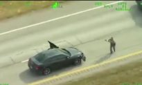 Top 5 Videos of the Day: Police Helicopter Video Captures Dramatic Shootout on Highway