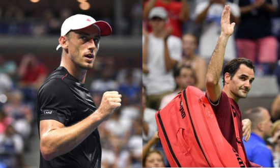 Unseeded Millman Sends Federer Crashing out of US Open
